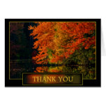 Autumn Thank You Acknowledgement Card