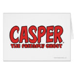 Casper the Friendly Ghost Red Logo 1