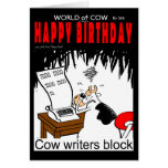 Cow Writers Block