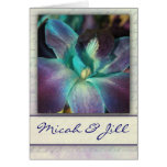 Create your own blue orchid design