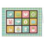 Easter and Spring Icons, Plaid