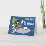 MARVIN THE MARTIAN™ Riding Rocket Card